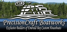 Precision Craft Boatworks  houseboat america