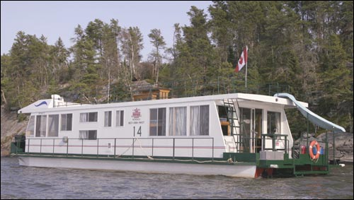 canada houseboat vcations houseboat america