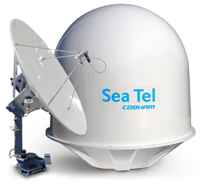 sea tel marine satellite tv houseboat america 305-280